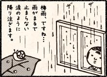 梅雨空と四郎の巻